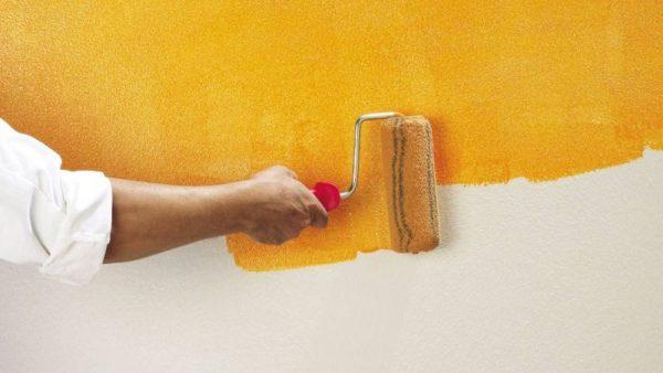 Как избежать выгорания краски на стенах